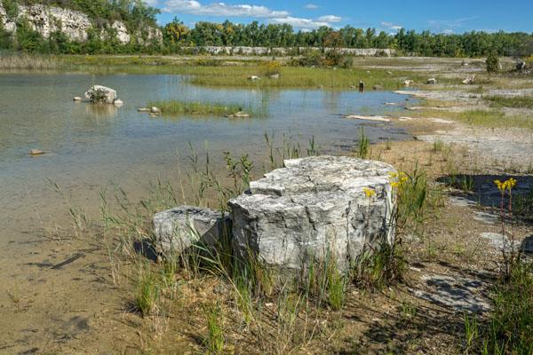 Picture ohio castalia quarry metropark erie county for Fish hatchery ohio