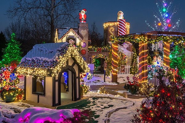 Gingerbread Land, Stan Hywet Hall & Gardens, Akron, Ohio