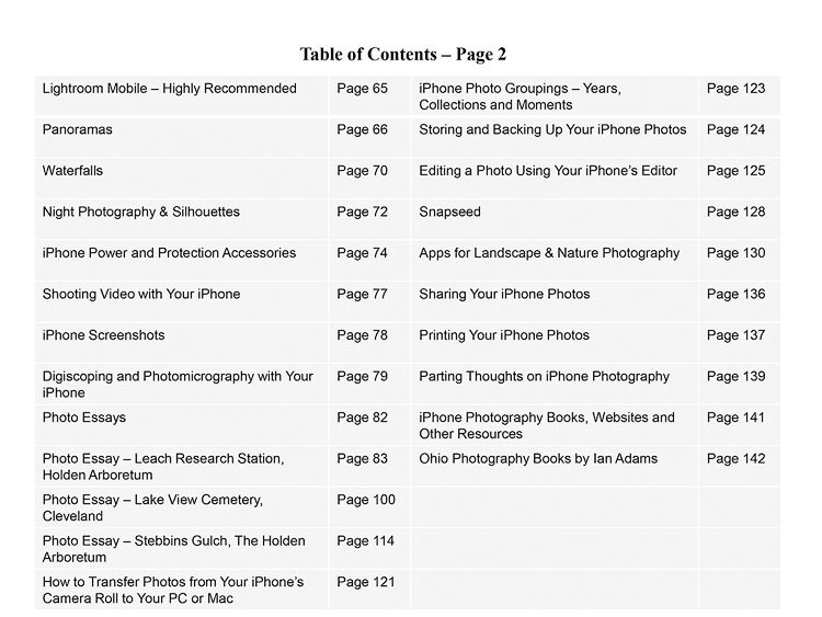 New eBook: iPhone Landscape & Nature Photography